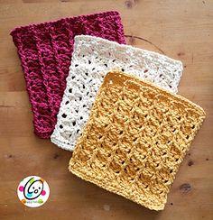 Ravelry: Scrubbing Ridges Dish Cloth pattern by Heidi Yates