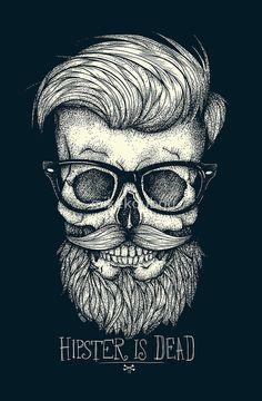 «Hipster is Dead II» de mikekoubou