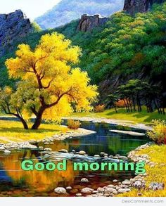Good Morning Pictures, Images, Photos - Page 2 Landscape Art, Landscape Paintings, Landscape Photography, Nature Photography, Beautiful World, Beautiful Images, Autumn Scenery, Good Morning Images, Science And Nature