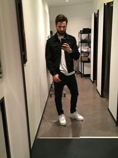#zara #man #blackman #jeans #mont #nike #airforce #moda #fashion #style