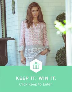 Win summer's most essential top from @keep and @aliciabell7!