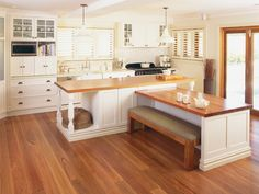 The Agnew French provincial kitchen by Wonderful Kitchens New Kitchen, Kitchen Decor, Kitchen Ideas, Built In Dog Bed, French Provincial Kitchen, French Country Furniture, Country French, Kitchen Showroom, Laundry In Bathroom