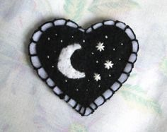 Browse unique items from TheOkayArtClub on Etsy, a global marketplace of handmade, vintage and creative goods. Browse unique items from TheOkayArtClub on Etsy, a global marketplace of handmade, vintage and creative goods. Embroidery Patches, Cross Stitch Embroidery, Hand Embroidery, Embroidery Designs, Diy Patches, Pin And Patches, Felt Diy, Felt Crafts, Handmade Polymer Clay