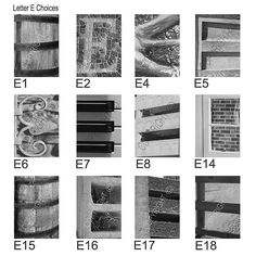Alphabet Photography Letter Prints Letter E by AlphabetArtPhotos, $5.00