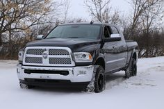 2013 Dodge Ram 2500 MegaCab Playin in the snow before the big makeover