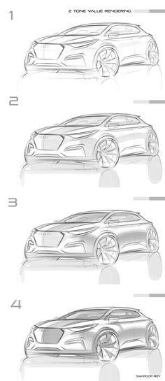 스케치부터 기본 베이스 렌더링까지의 과정을 위한 참고자료로 공유하였습니다.