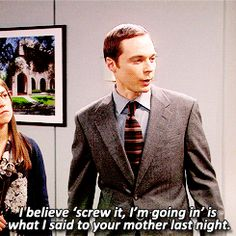 One of my favorite Sheldon moments