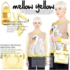 Yellow!!! by thequeenstore on Polyvore featuring moda, Viktor & Rolf and Victoria Beckham
