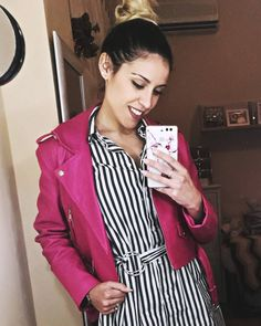 Chaqueta y vestido camisero de @bershkacollection #ropa #amolaropa #pink #moda #modafeminina #instamoda #modafemenina #modamujer #moda…