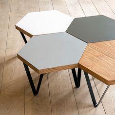 Hexa Coffee Table - White | Urban Wild