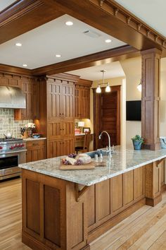 Craftsman Kitchen   Old House Restoration, Products & Decorating