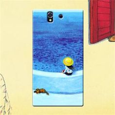 Jimmyboy See Sea Plastic Jimmy Comic Series Hard Case For Sony Xperia Z