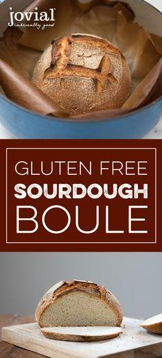 Gluten Free Sourdough Boule | jovialfoods.com