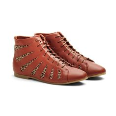 eu.Fab.com | High Cut Shoes Women's Brown