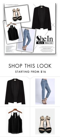"""""""SheIn 3/III"""" by hedija-okanovic ❤ liked on Polyvore featuring American Vintage and shein"""