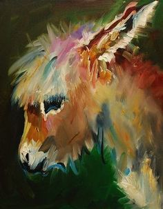 Burro Donkey Painting by Diane Whitehead - Burro Donkey Fine Art Prints and Posters for Sale
