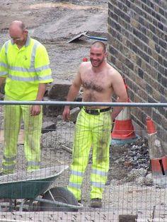 Best construction site ever.