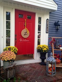 Front porch for Fall.