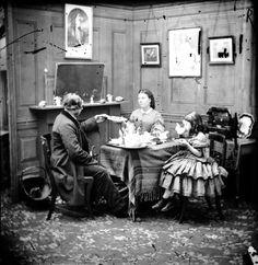 herbata w dawnych czasach, dawne życie towarzyskie, blog historia, blog historyczny