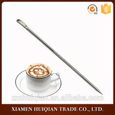 Latte Art Garland Fancy stainlee steel Latte needleStainless Steel Coffee Art Pen Fancy Needle Latte Cappuccino Machine Cafe Too