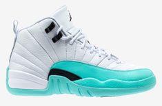 6646e135a9f6 Release Date  Air Jordan 12 GS Light Aqua