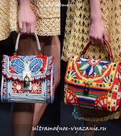 Вязаные сумки 2013г.