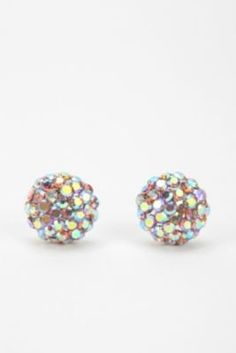 Glimmer Dome Post Earring