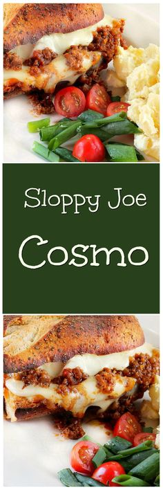 All it took to take a Sloppy Joe recipe from a good sandwich to a Fantastic sandwich was cheese, an Italian Bread loaf and my broiler. Lunch Recipes, Easy Dinner Recipes, Beef Recipes, Great Recipes, Cooking Recipes, My Favorite Food, Favorite Recipes, Sauces, Joe Recipe