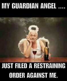 Best My Guardian Angel Memes Funny Shit, Funny As Hell, Haha Funny, Funny Jokes, Lol, Funny Stuff, Tired Funny, Funniest Memes, Stupid Stuff