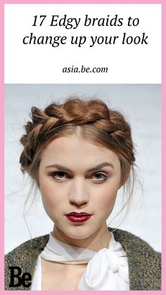 If you're stumped on how to wear your hair try the versatile braid! #braids #fashion #beauty #hair #look
