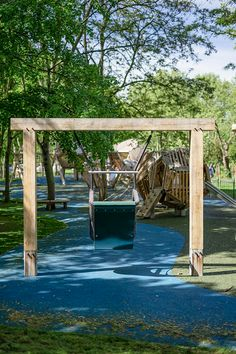 We offer a wide range of playground swings made from naturally durable hardwood. Our swings are suitable for all ages and abilities. Playground Swings, Cross Beam, Swing Seat, Technical Drawing, Outdoor Furniture, Outdoor Decor, Hammock, Beams, Hardwood
