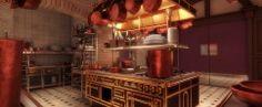 Making of Ratatuille kitchen