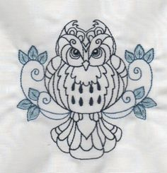 Enchanted Owls by Tea Tree Embroideries RFT-0071