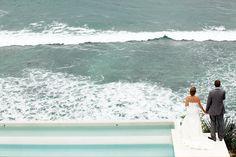 Seashore promises. Wedding Photog: Paulina Ulloa.