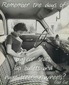 Original vintage old photos reproduced into contemporary prints. All photographs are chemically processed in photo labs and in great condition. Legy Girl Putting On Seat Belt On Old Style Bench Seat Reprint Of Old Photo Legy Girl Putting On Seat Belt Vintage Beauty, Vintage Fashion, Mode Vintage, Retro Vintage, Up Auto, Look Retro, Bullet Bra, The Good Old Days, Vintage Photographs