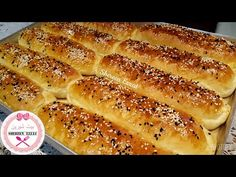 YouTube Arabic Food, Bread Rolls, Croissant, Pain, Baguette, Hot Dog Buns, Bakery, Cooking, Gull