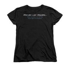 Men Like Mascara Women's T-Shirt