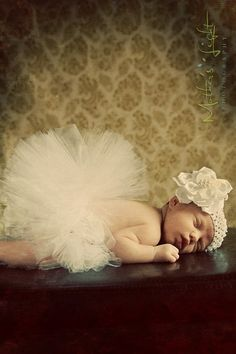 baby tutu with headband and flower clip newborn - 5T you choose colors and length ready to ship within 7 days. $19.00, via Etsy. LOVE THIS for newborn picture!!
