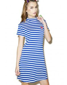 DollsKill: Heart Stripe Dress