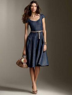 Slikovni rezultat za jeans dresses and skirts