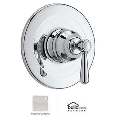 Rohl ARB1400LM Verona Shower Valve Trim (Trim Only) with Metal Lever Handle (Polished chrome)