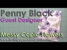 A week of videos and Penny Black card inspiration featuring guest designer, Therese Calvird