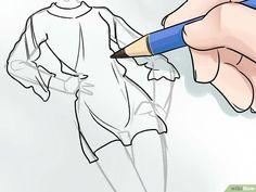 Come Disegnare un Figurino di Moda: 15 Passaggi Shirt Sketch, Shirt Drawing, Body Drawing, Drawing Tips, Drawing Reference, Drawing Ideas, Fashion Model Drawing, Fashion Design Drawings, Fashion Sketches
