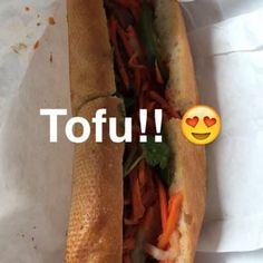 Tofu banh mi at Duc Loi Supermarket, SF