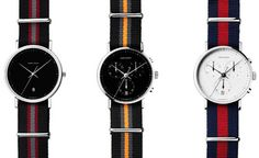 George Jensen NATO Watch Straps | Cool Material