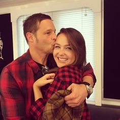 Camilla Luddington and Justin Chambers Camilla Luddington, Greys Anatomy Alex, Greys Anatomy Cast, Meredith Grey, Alex And Jo, Justin Chambers, Grey's Anatomy Tv Show, Medical Drama, Youre My Person