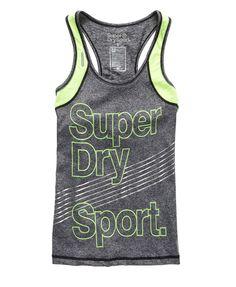 Superdry Gym Vest Top - Womens Superdry Sport