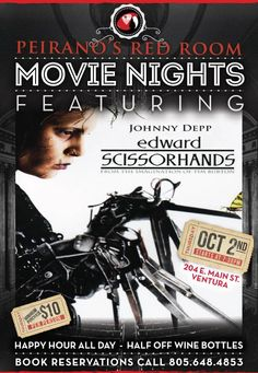 Join Us Tonight for Our Movie Night, Half Off Wine Bottles, & Happy Hour All Day! @DowntownVentura #ventura @vcstar