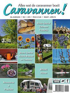 4x Caravannen € 14,95 + MiniCampingcard Gids: Caravannen is het tijdschrift met alles wat de caravanner boeit!