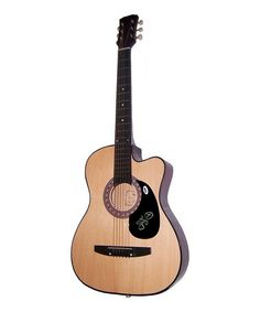 Take a look at this Country Joe McDonald Autographed Acoustic Guitar by New Dimensions on #zulily today! $150 !!